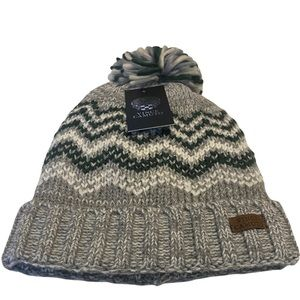 Vince Camuto Total Eclipse Knit Pom Beanie Hat NWT